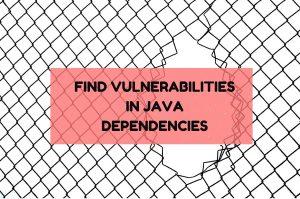 finding vulnerabilities in java project